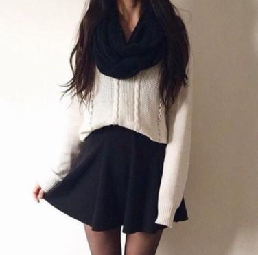 yrjths-l-610x610-sweater-loose-outfits-skirt-black-blackskirt-shawl-girly-short-shortdress-winter-cute-fashion-stylish-miniskirt-scarf-casualchic-winteroutfits-wintersweater-cuteoutfits-skat
