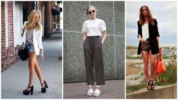 Look-casual-con-pantaloni-culotte-e-shorts